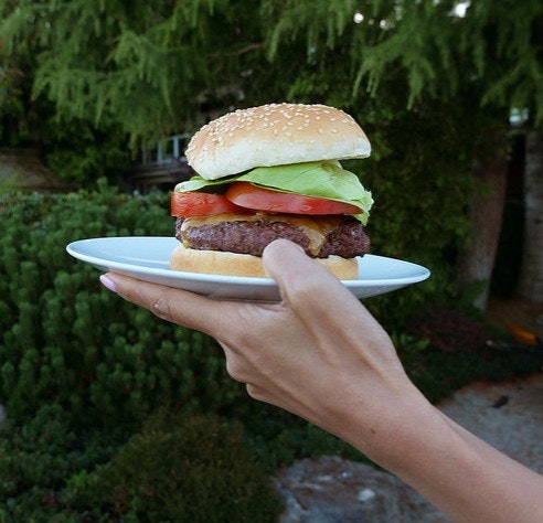 The perfect summer burger