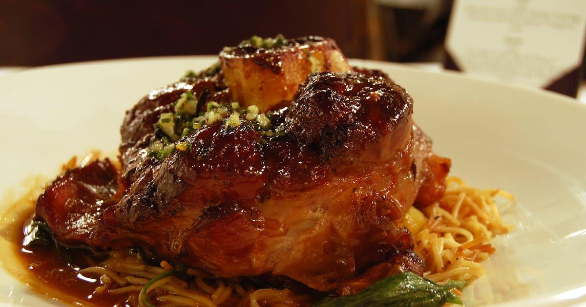 Pork Osso Bucco