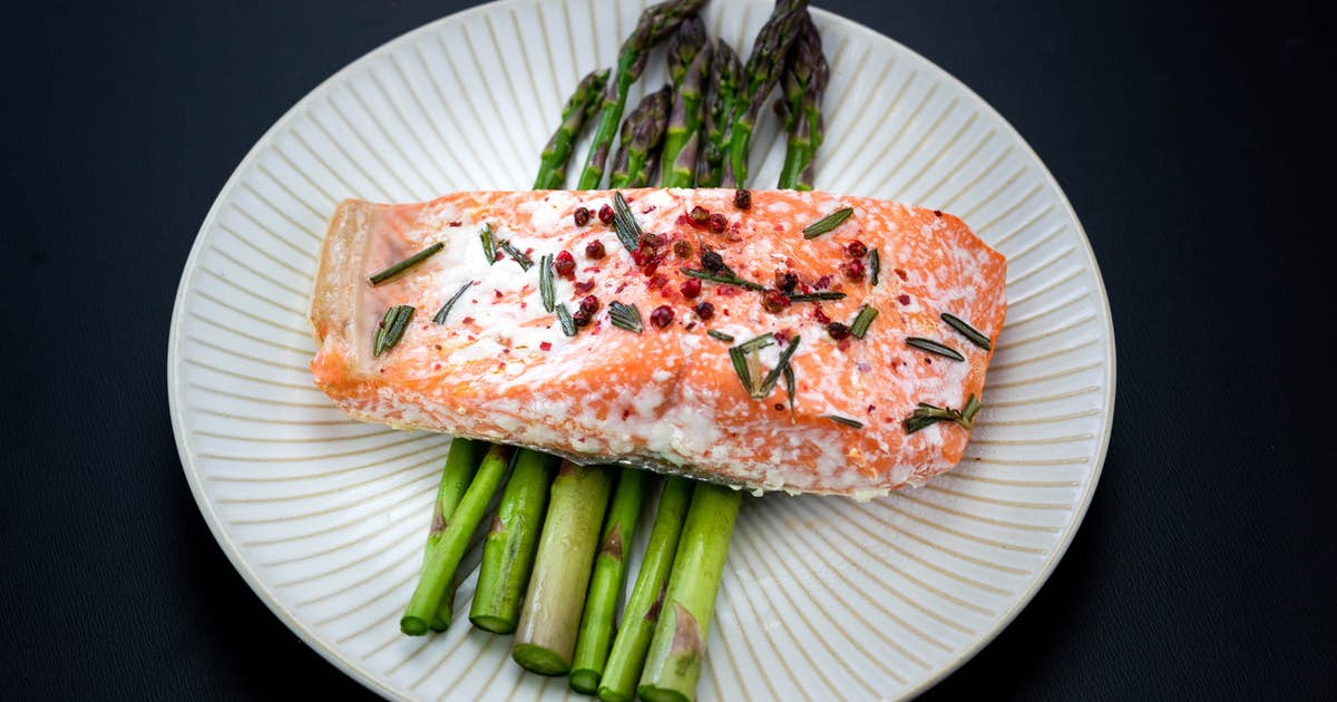 Pink Peppercorn Roasted Salmon