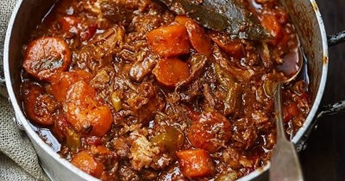 Becky's Favorite Oxtail Stew