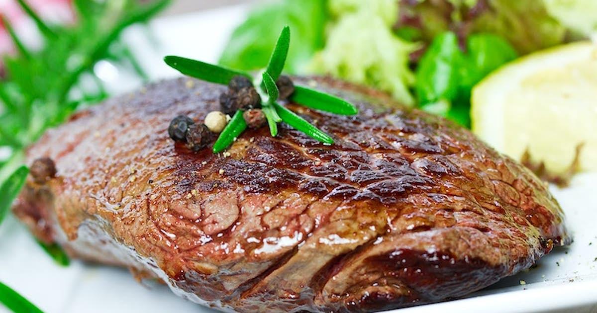 Wine-Braised Eye of Round Steak