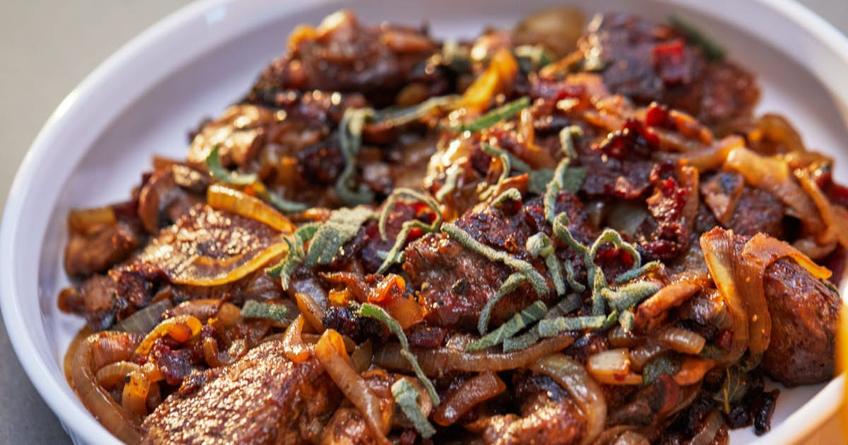 Elevated Liver and Onions