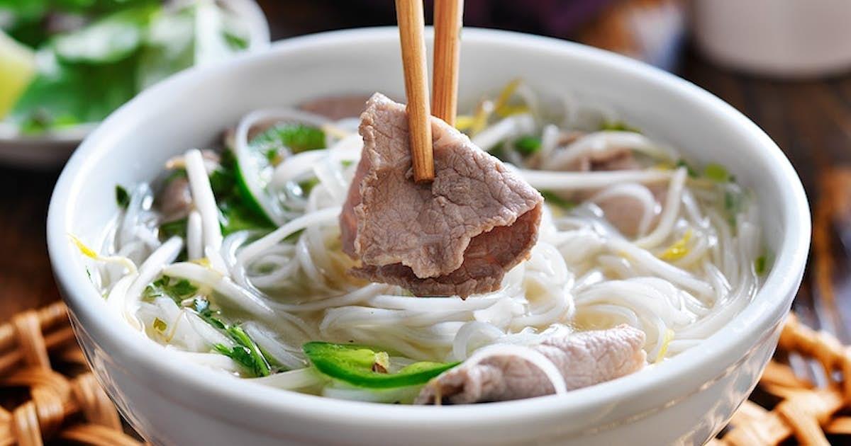 Vietnamese Pho with Beef Marrow Bones