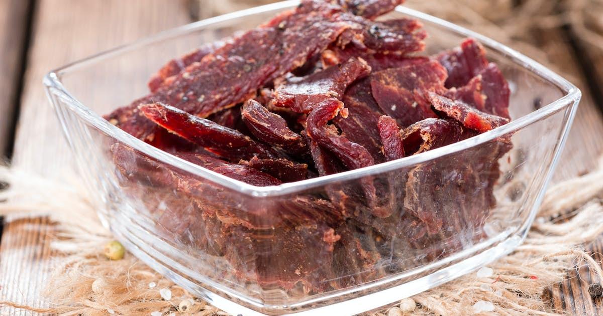 Spiced Beef Heart Jerky