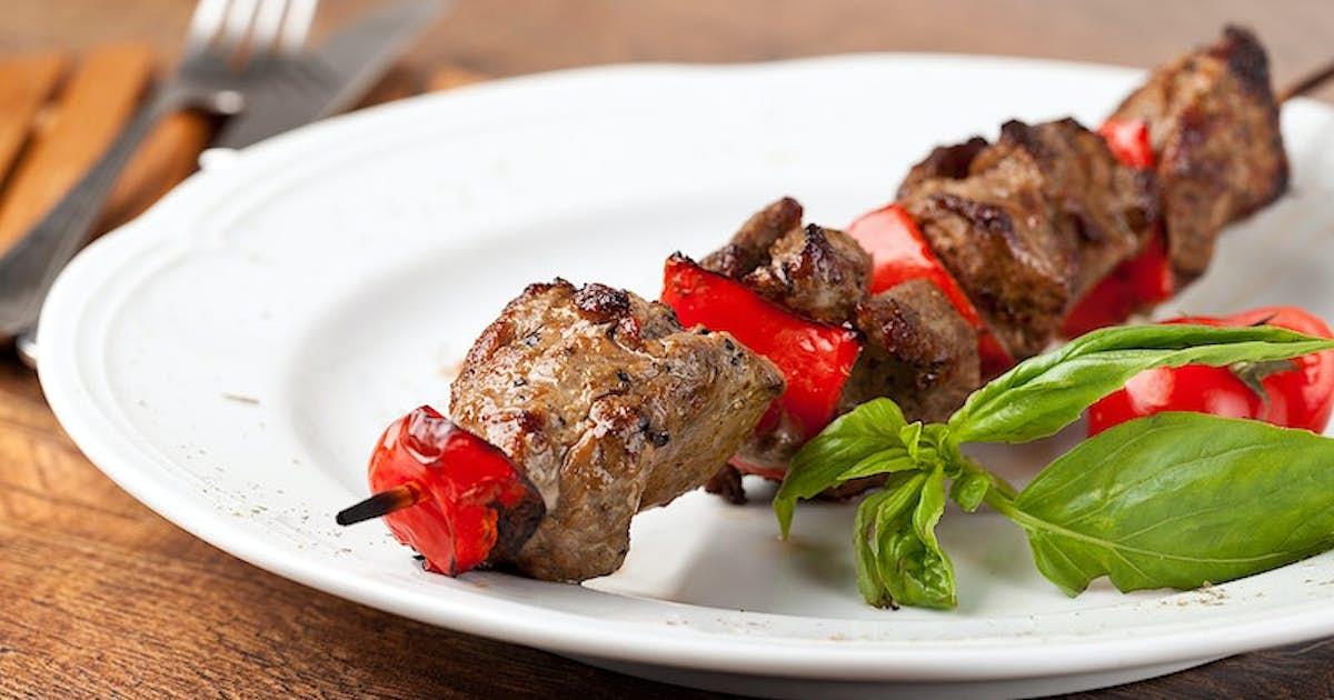 Cumin-Spiced Beef Kebabs