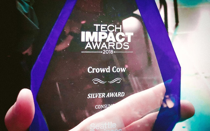 Crowd Cow - Tech Impact Award 2018