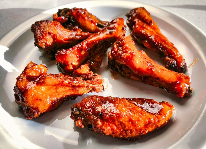 Sriracha and Manuka Honey Pasturebird Chicken Wings