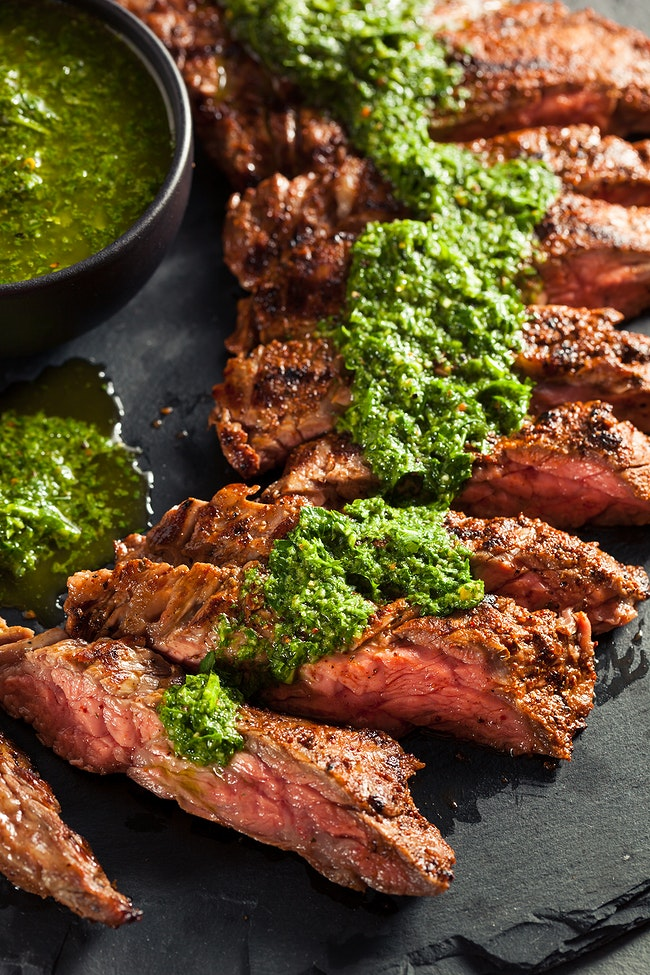 Carne Asada with Chimichurri Sauce