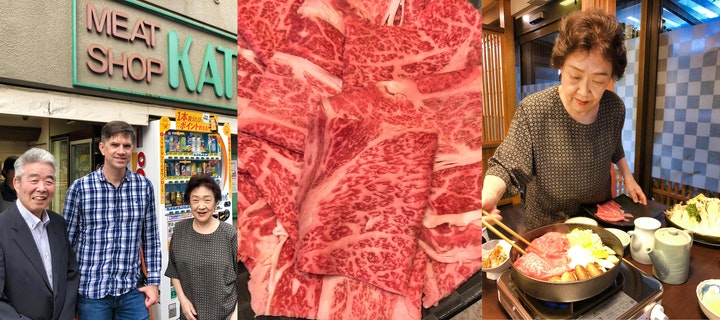 Kato Meat Shop and Sukiyaki