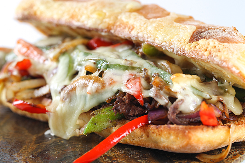 6 Ingredient Philly Cheesesteak Sandwiches