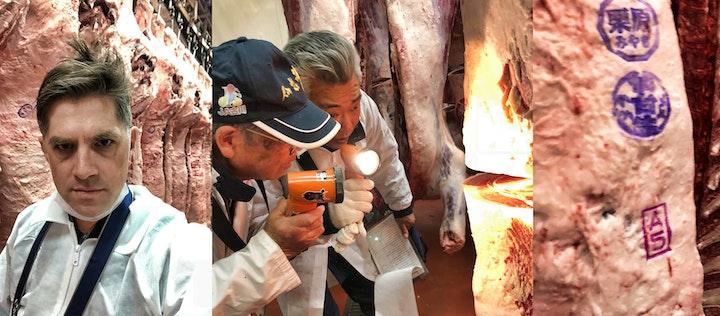 Sendai-gyu Wagyu Beef Inspection