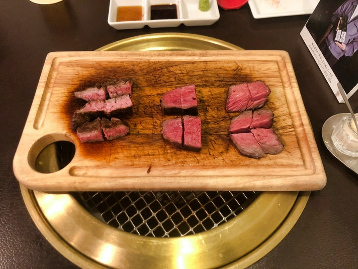 Nose-to-tail Wagyu at Kakunoshin