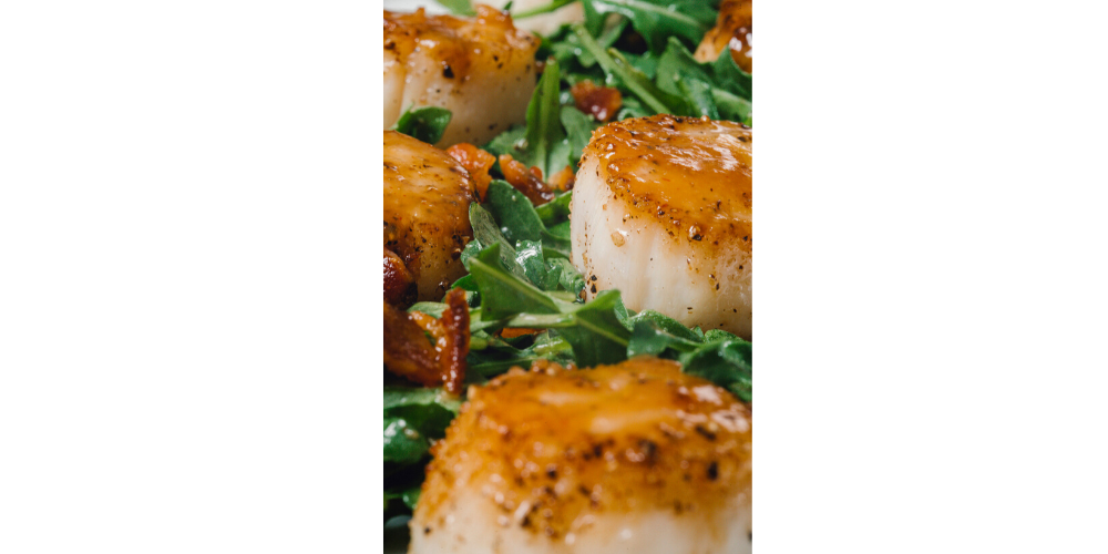 Miso Seared Sea Scallops