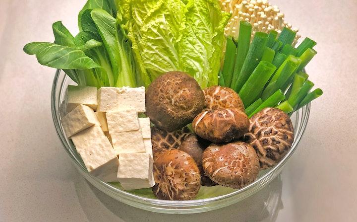 Shabu Shabu veggetables