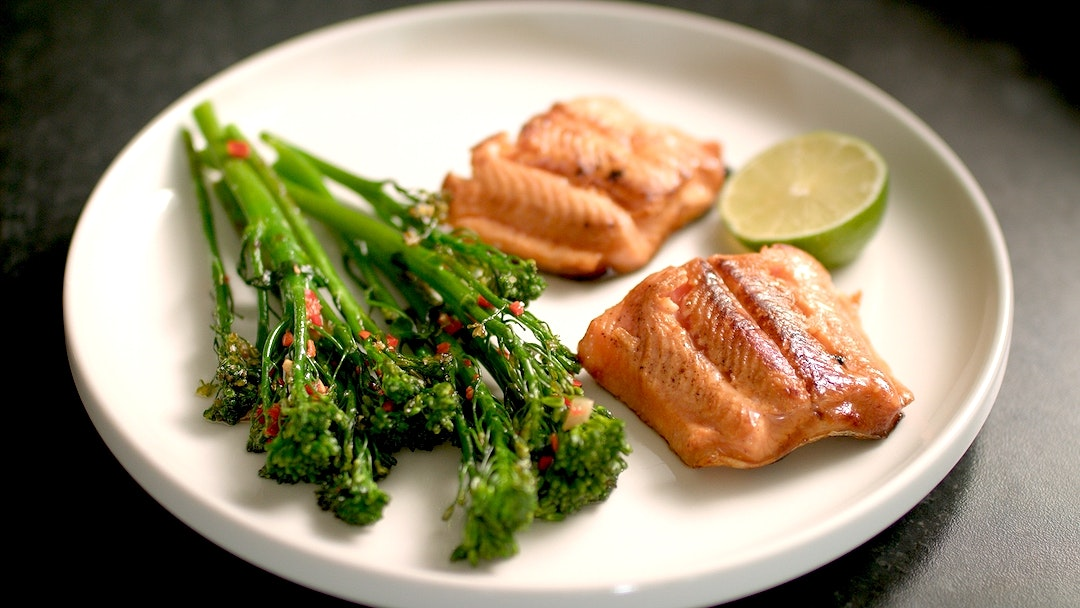 Soy and Miso Marinated Arctic Char