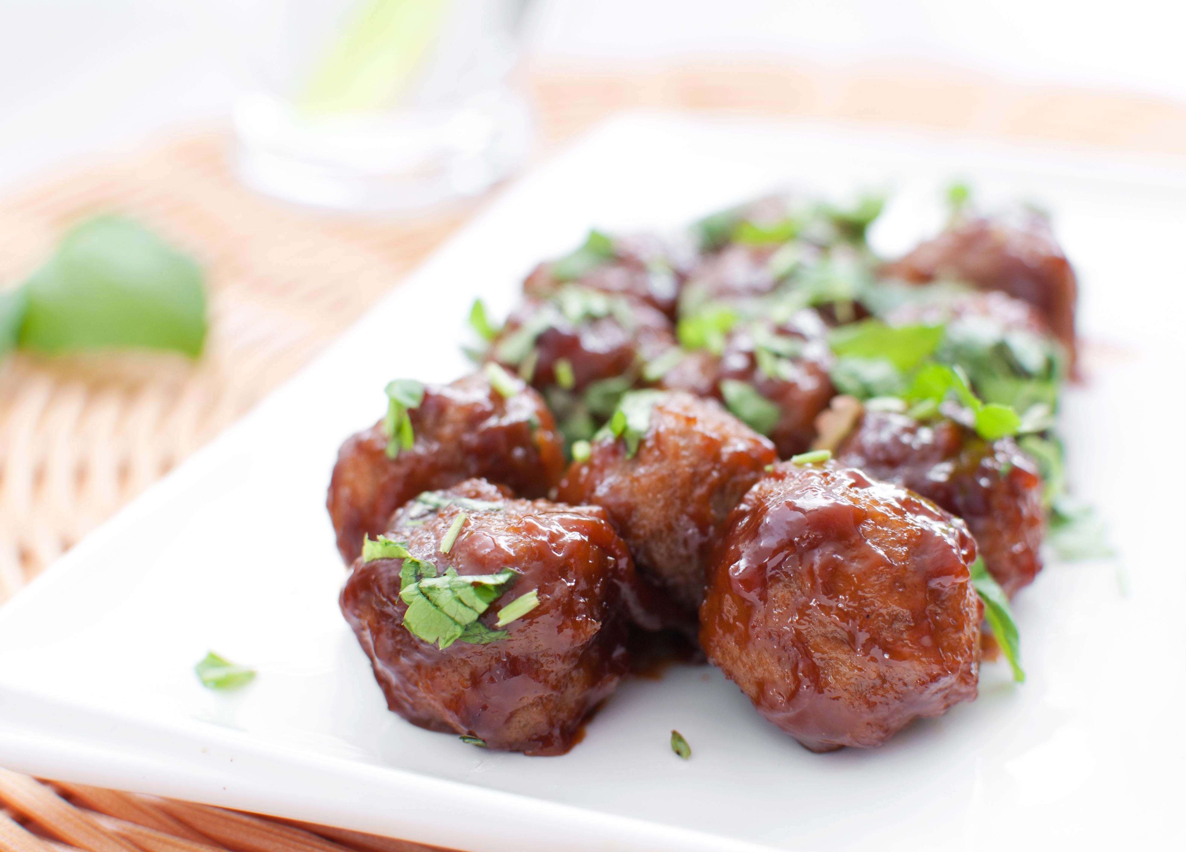 Mongolian Glazed Meatballs