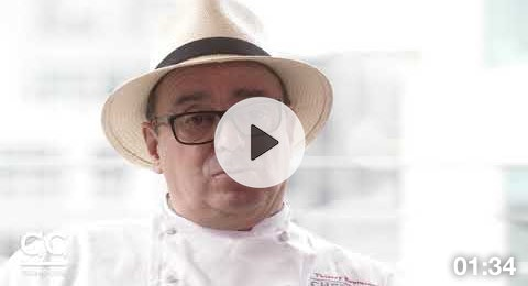 Chef Thierry sears Olive Wagyu