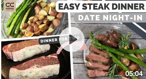 Easy Steak Dinner for Two at Home