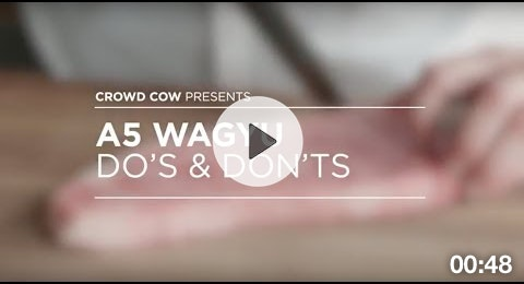 A5 Wagyu Dos and Donts