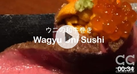 A5 Wagyu + Sea Urchin (Uni) = Heaven