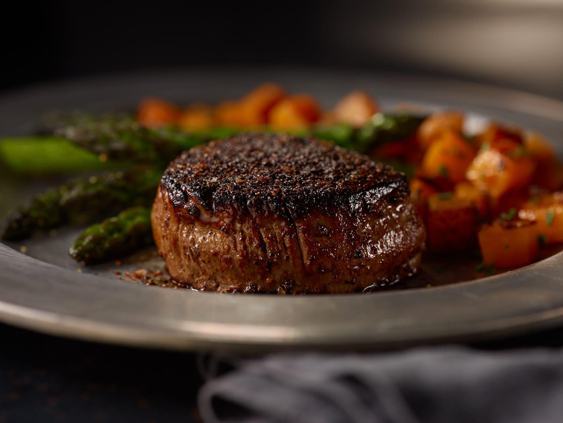 Coffee-Rubbed Beef Tenderloin Steak