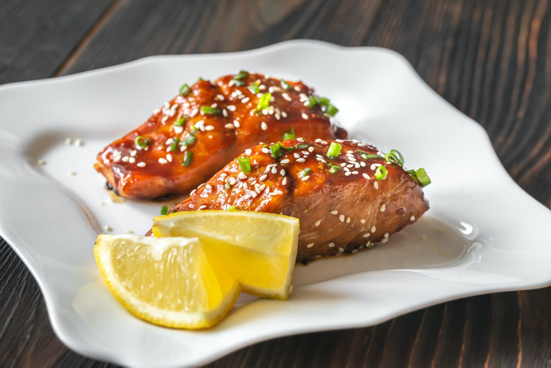 Soy Ginger Chilean Coho Salmon