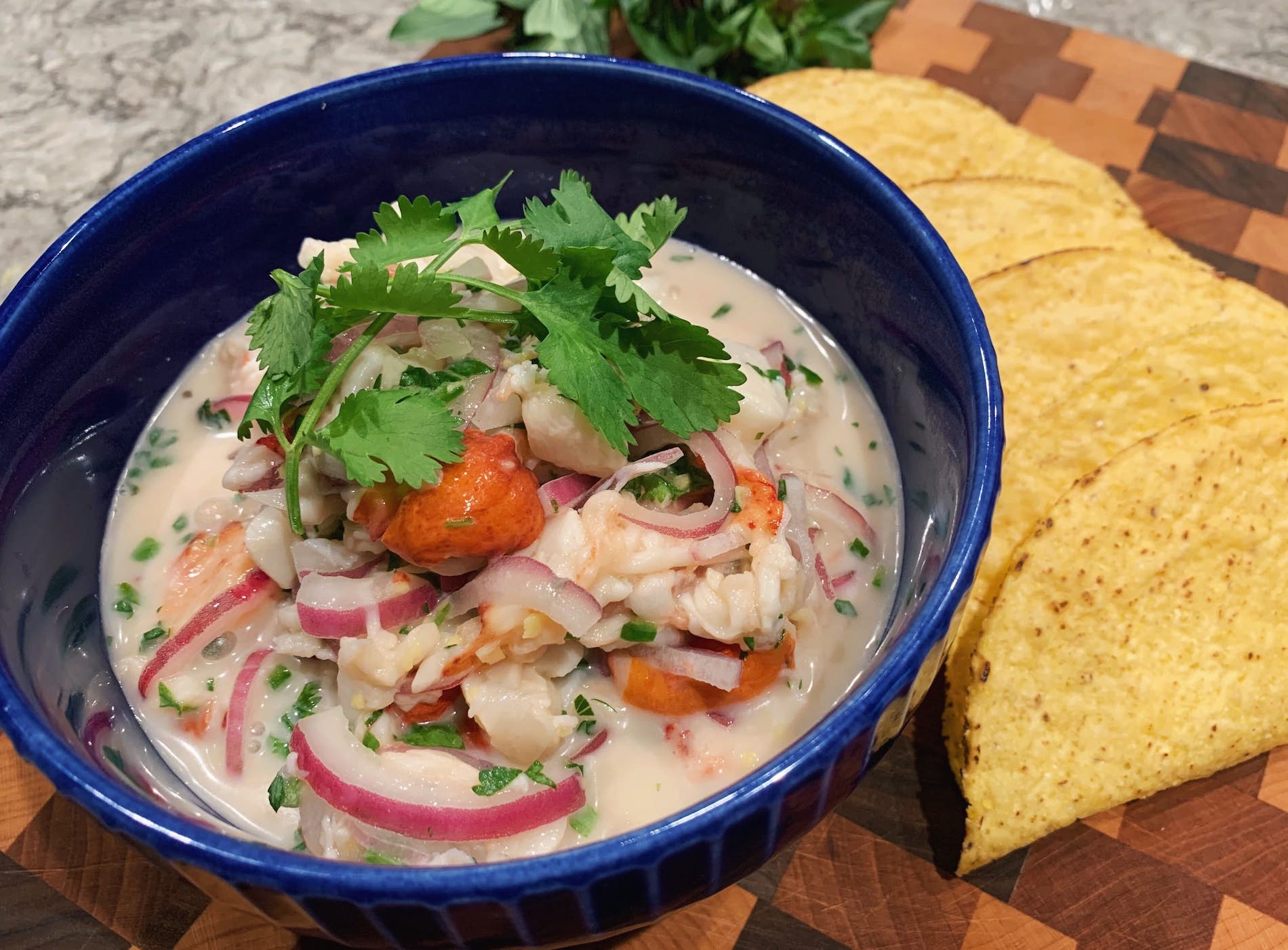 Cold Cracked Lobster Ceviche