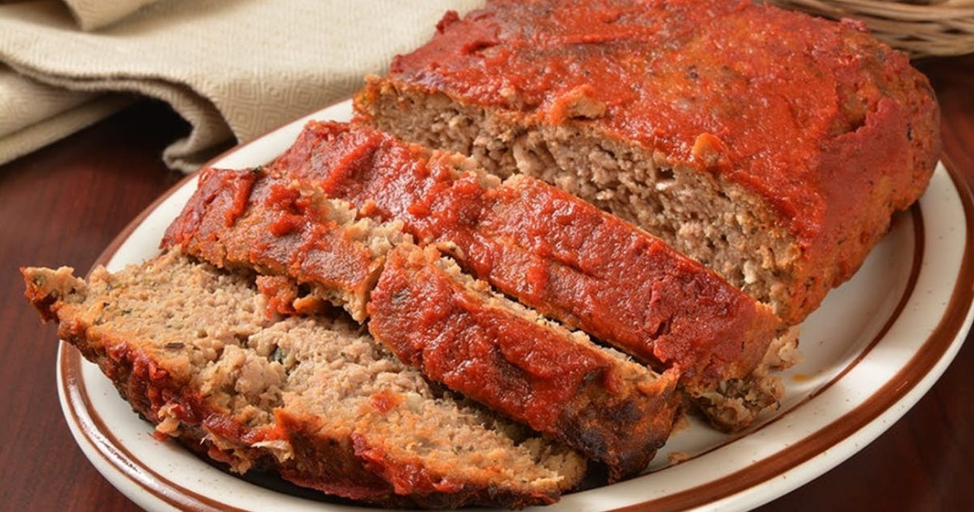 Classic Home style Meatloaf