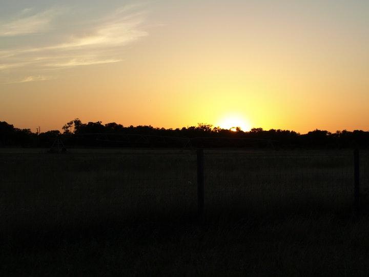 Sunset at Tebben Ranches