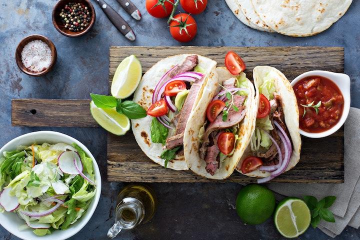 Beef Heart Tacos