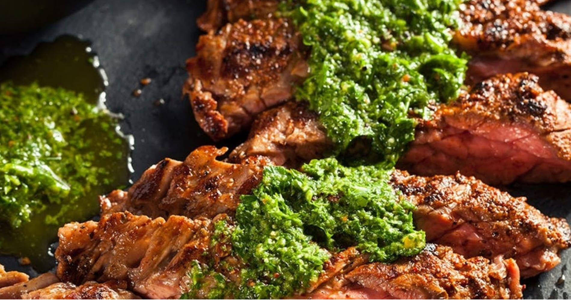 Carne Asada with Chimichurri Sauce